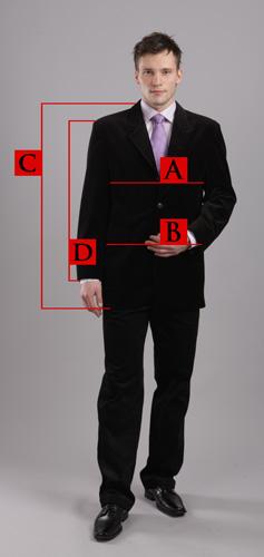Spodnie - pomiar